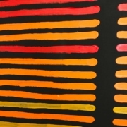 Pakup Yallandar (Fire Stick Sunset) Artwork by Kurun Warun